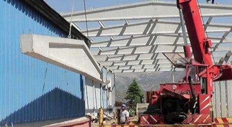 Betaş Beton Prefabrik, Antalya OSB'de tesis kuruyor!