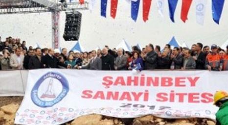 Gaziantep Şahinbey Sanayi Sitesi'nin temeli atıldı!