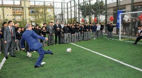 Bursa Mimar Sinan Teknik ve Endüstri Meslek Lisesi Spor Tesisleri hizmete girdi!