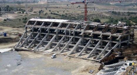 Mersin'deki yeni stadyum inşaatı icra takibinde!
