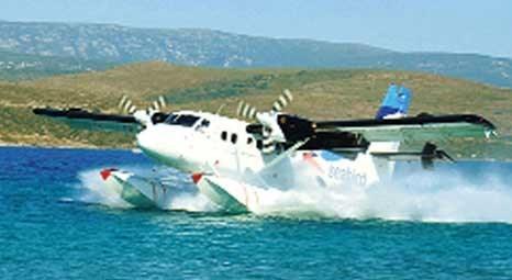 Haliç'ten Ankara Gölbaşı'na deniz uçağı seferleri bir ay içinde başlayacak!