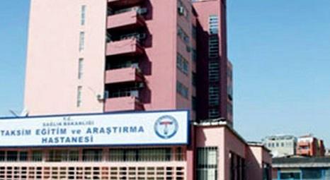Taksim Eğitim ve Araştırma Hastanesi, Gaziosmanpaşa Devlet Hastanesi'ne taşınacak!