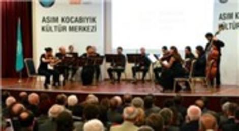 Bursa'da yapılan Asım Kocabıyık Kültür Merkezi hizmete girdi!