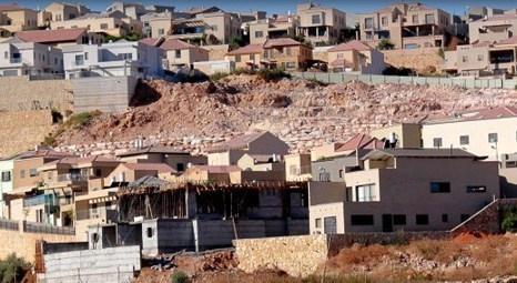Filistin, İsrail'in Batı Şeria'da inşa edeceği konutlar üzerine BM'yi göreve çağırdı!