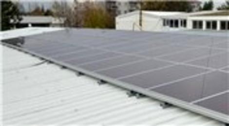 Bursa Büyükşehir Belediyesi, güneş enerjisinden elektrik üretecek!