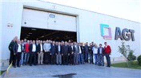İnegöllü mobilyacı üreticileri AGT'yi ziyaret etti!