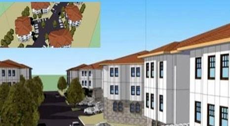 TOKİ, Safranbolu'da yöresel ve kültürel mimariye uygun tarzda konutlar inşa edecek!