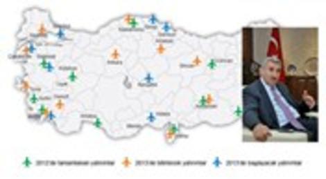 DHMİ 2013 yılında özkaynaklarıyla 450 milyon lira yatırım yapacak!