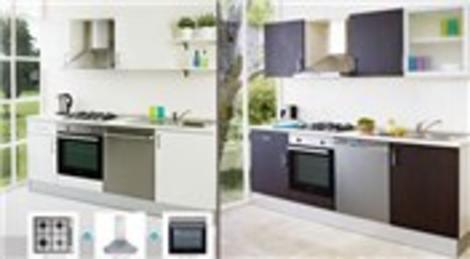 Beko Optima hazır mutfak alanlara, ankastre paketleri özel fiyatlarla sunuluyor