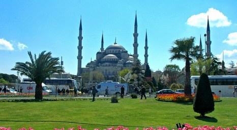 Sultanahmet Camisi'nin sağ arka minaresi sağlamlaştırılacak!