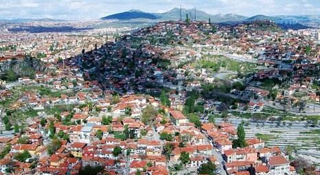 Ankara Ulus'taki kentsel dönüşüm projesiyle bölge gecekondudan kurtulacak!