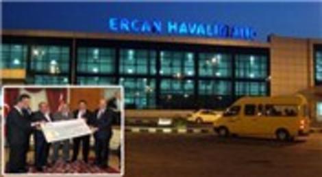 Taş Yapı Ercan Havalimanı için KKTC'ye 100 milyon Euro'luk çek verdi!