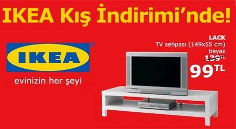 IKEA'da kış indirimi başladı! TV sehpası 139 TL yerine 99 TL!