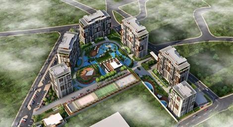 Mavera Başakşehir konut projesinde 500 bin liraya 3+1!