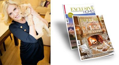Çiğdem Tunç, Exclusive Homes And Decor'a evinin kapılarını açtı!
