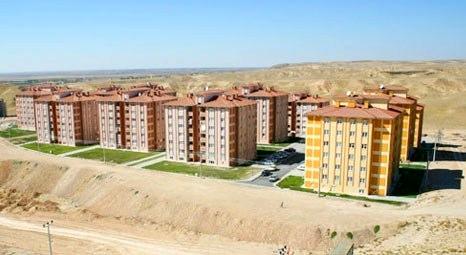 TOKİ Konya Meram'da 120 daire satıyor! 475 lira taksitle!