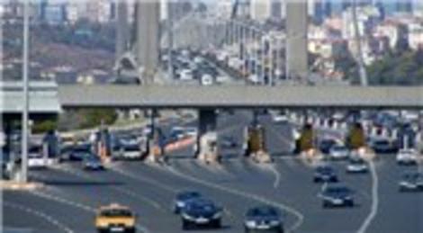 Köprü ve otoyol geçişlerinden devletin kasasına 803 milyon lira girdi!
