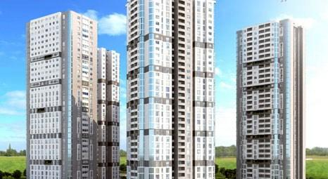 Samsun Towers'ta 60 aya varan vadelerle! 171 bin TL'ye 2+1!