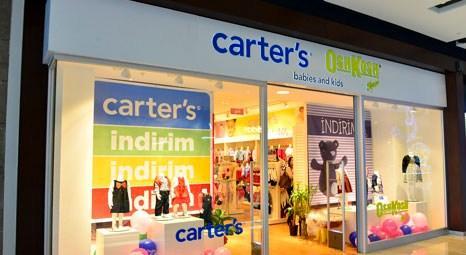 Carter's & OshKosh B'gosh, Türkiye'deki 7'inci mağazasını Marmara Forum AVM'de açtı!
