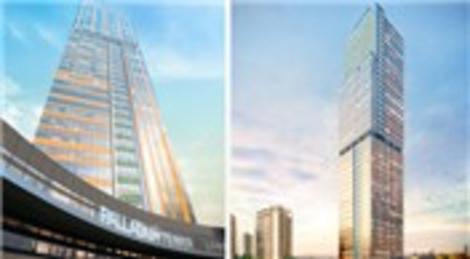 Ataşehir'de Tahincioğlu Gayrimenkul tarafından inşa edilen Palladium Tower projesinin genel özellikleri!