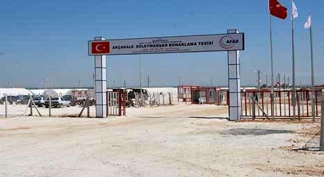 Harran'da Suriyeli sığınmacılar için konteyner kent kuruldu!