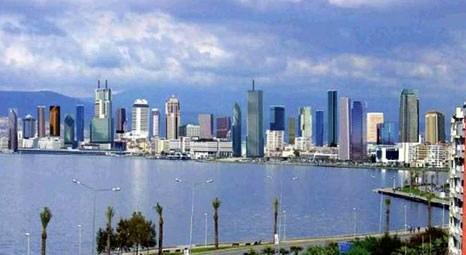 İzmir gökdelenler bölgesinin yatırımları hız kesmiyor!
