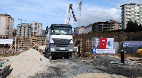 Büyükçekmece Münevver Kemal Özver Anadolu Sağlık Meslek Lisesi'nin temeli atıldı!