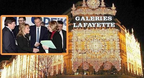 Galeries Lafayette'in İstanbul şubesini Fransız Bakan Nicole Bricq açacak!