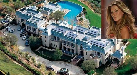 Gisele Bündchen, Los Angeles'taki 20 milyon dolarlık malikanede yaşıyor!