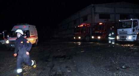 Çankırı Salti Tuz Fabrikası'nda yangın çıktı!