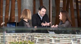 KoruFlorya'nın mimarları Selim Cengiç ve Aydan Volkan bölge halkıyla buluştu!