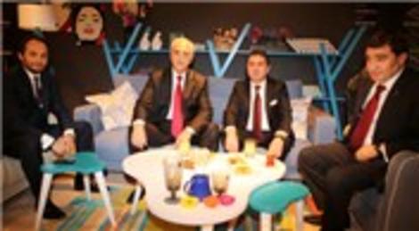 Zafer Çağlayan ve Hüseyin Avni Mutlu İMOB Fuarı'nda Doğtaş standını ziyaret etti!
