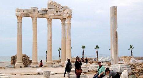Apollon Tapınağı'nda tuz ve nem dolayısıyla dökülmeler başladı!