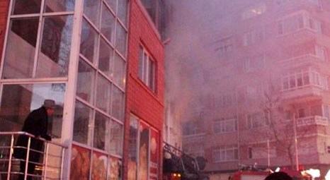 Beşiktaş'ta 7 katlı bir apartmanın 2'nci katında yangın çıktı!