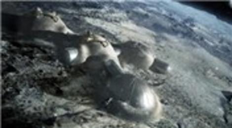 Foster + Partners 3 boyutlu Ay üssü tasarladı! Astronotlar burada kalacak!