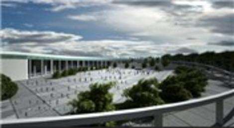 İzmir Büyükşehir Belediyesi 400 milyon liralık fuar kompleksinin inşaatına başladı!