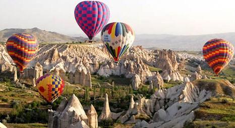 Kapadokya'nın balonları yörenin tanıtım yüzü oldu!