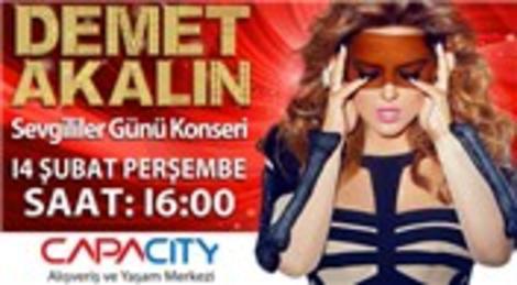 Demet Akalın Sevgililer Günü'nde Bakırköy Capacity AVM'de konser verecek!