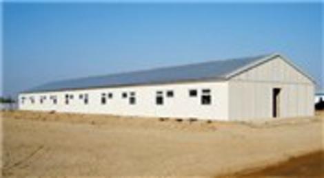 Bursa'da icradan satılık prefabrik ev ve çelik depo fabrikası! 8 milyon 306 bin liraya!