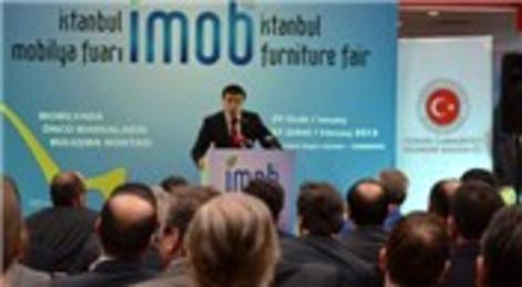 İMOB 2013 yoğun ilgi gördü, mobilyacılar ihracat hedefini artırdı!