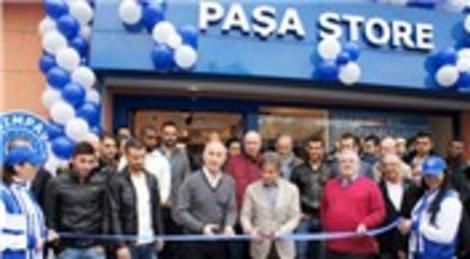 Kasımpaşa Kulübü'nün lisanslı ürünlerinin satılacağı Paşa Store mağazasının açılışı yapıldı!