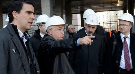 TBMM Başkanı Cemil Çiçek, Meclis'in yeni binasını inceledi!