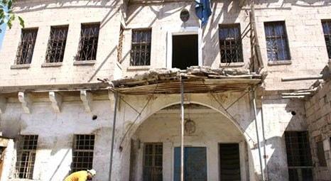 Aksaray'da tarihi evler yeniden ayağa kaldırılıyor!