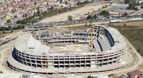 Timsah Arena'nın açılış tarihi Mart 2014 olacak!