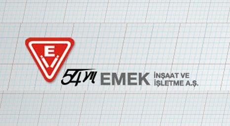 Emek İnşaat, İstanbul ve Ankara'da ihaleyle bina satacak!