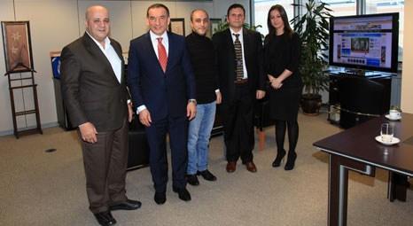 emlaktasondakika.com'u Kılıç İnşaat YKB Ahmet Kılıç ziyaret etti!