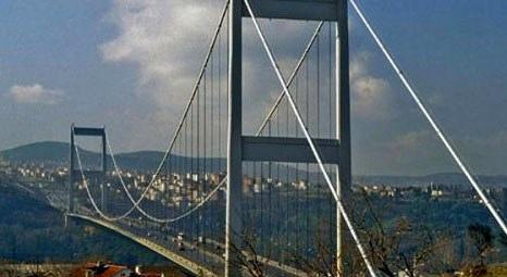 Boğaziçi Köprüsü'nde tadilat çalışmaları gece yapılacak!