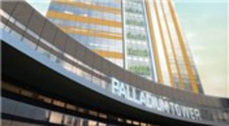 Tahincioğlu Palladium Tower'da 895 bin dolara ofis!