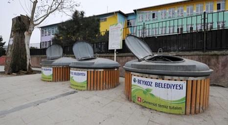 Beykoz Belediyesi'nde çöp konteynerleri yer altına iniyor!
