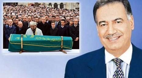 Enver Ören, Eyüp Sultan Camii'nde son yolculuğuna uğurlandı!